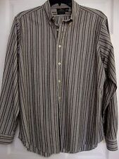 Men's  Shirt, Size XL, Long Sleeve, Stripe.