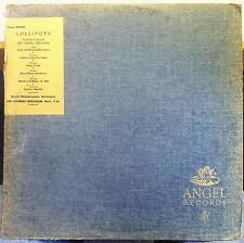 Sir Thomas Beecham - Lollipops LP VG+ ANG 35506 UK Angel 1st Mono Record