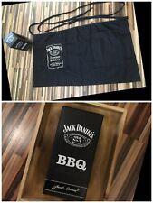 Jack Daniels Schürze No 7 kurze Ausführung Grillschürze BBQ 2 Taschen Glas Bar