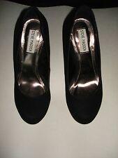 Authentic Steve Madden Size 8M Caryssa Black Suede Pumps Heels Womens Shoes