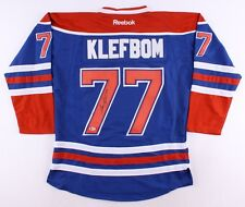 4c5aaa95e Oscar Klefbom Signed Oilers Jersey (Beckett) 19th Overall Pick 2011 NHL  Draft