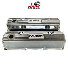 Ford De Tomaso Pantera Valve Covers Polished (Style 3) 351 Cleveland - Ansen USA