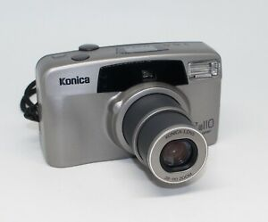 Konica Z-up 110 Super 35mm Film Compact Camera with case – Tested and VGC