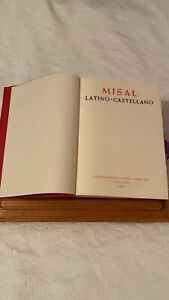 Missale Romanum In Spanish-Latin