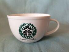 Branded Starbucks 2010 Cappuccino Black Mermaid Design Cup GC