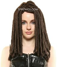 MICHONNE THE WALKING DEAD Character PREMIUM Dread Lock Halloween Costume Wig