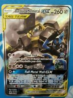 Pokemon TCG Lucario & Melmetal GX  [SM192] - Ultra Rare, Full Art + Code Card