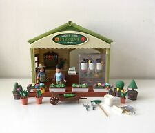 Mighty World Town Life Florist Flower Shop Complete Rare