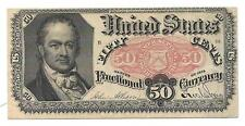US Fractional - 50 Cents Note - 1875 - 5th Issue - AU+