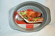 New listing Good Cook Premium Non-Stick Roaster Roasting Pan Non Stick up to 30 Lb Turkey