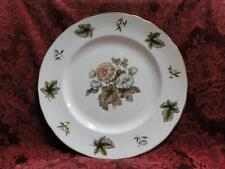 Royal Worcester Dorchester, Brown & Yellow Flowers: Dinner Plate (s), 10 5/8""