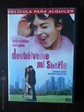 DVD DEVUELVEME MI SUERTE - EDICION DE ALQUILER - LINDSAY LOHAN - CHRIS PINE
