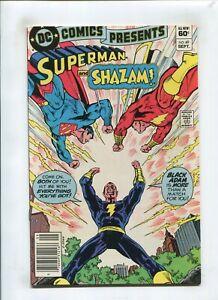 DC COMICS PRESENTS #49 (7.0) SUPERMAN & SHAZAM 1982
