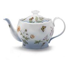 "burton+Burton Porcelain 6 Cup Teapot Tea Pot 6.2"" PETITE FLEUR"
