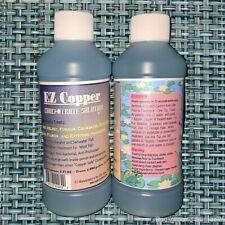 "EZ Copper Concentrate Solution Fish Treatment 20X Stronger than ""Copper Safe"""