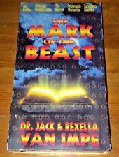 Mark of the Beast (1997) Jack Van Impe VHS + FREE DVD