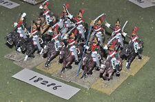 25 MM/Francese Napoleonico-Dragoni 12 CAVALLERIA-CAV (18286)