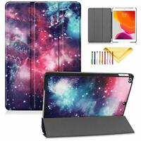 """New iPad 10.2"""" Case 2019 7th Generation, Lightweight Trifold Stand"""