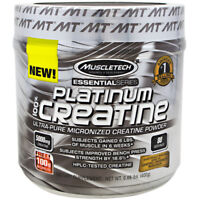 Muscletech Essential Series Platinum Creatine-Unflavored-80 servings-NEW SEALED