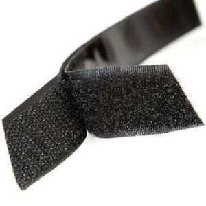 Self Adhesive Hook and Loop Fastener Tape Fastening Sticky Strips 16mm Wide