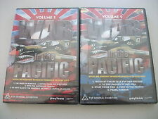 War in the Pacific Volume 1 & Volume 2 (DVD,) All Regions DVD Rated G Brand NEW