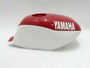 Yamaha YSR50 YSR80 1989 Fuel Petrol Gas Tank White & Red Painted Steel