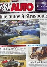 la vie de l'auto  911 - 4 novembre 1999- starsbourg - tour auto - fontenay