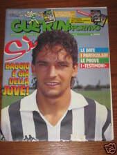 GUERIN SPORTIVO 1990/16 INSERTO MONDIALE BELGIO/COREA BAGGIO PLATT GULLIT