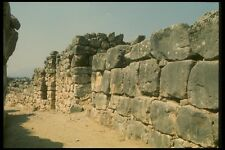 067004 Covered Fortification Gallery Tiryns A4 Photo Print