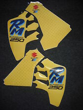 Suzuki RM 250 RM250 1990 Rad & Tank Decals Graphics Stickers