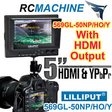 """Lilliput 5""""569HO w/ HDMI OUTPUT On Camera Monitor+gifts"""