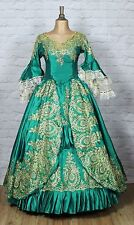 Theatre Victorian Edwardian Style Gown Dress Costume Wedding Stage UK 10-14