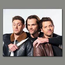 JENSEN ACKLES MISHA COLLINS JARED PADALECKI SEXY NEW!!! 8X10 PHOTO XN41