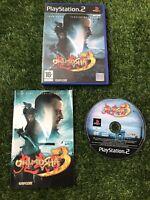 ONIMUSHA 3 SONY PLAYSTATION 2 PS2 GAME WITH MANUAL OFFICIAL UK PAL VGC NINJA