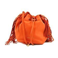 Bolso de mujer de piel color principal naranja