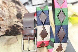 Gaucho Polo Leather belt Argentina Handmade polo Premium quality Gaucho Belts UK