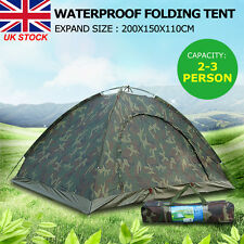 Portable Waterproof Outdoor Festival Camping Hiking Folding Tent 2-3 Persons NEW