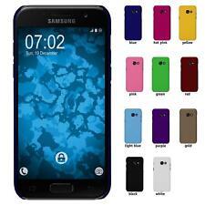 Funda Rígida Samsung Galaxy A5 2017 - goma amarillo protector de pantalla