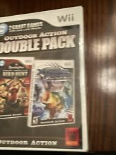 Outdoor Action Double Pack Wii Remington Bird Hunt Shimano Xtreme Fishing New!