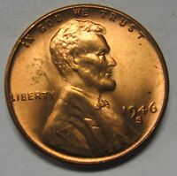 1946-S Lincoln Wheat Cent in the CH BU Range Nice Coins DUTCH AUCTION