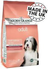 Arden Grange Adult Dry Dog Food - Salmon + Rice For Soft Skin And Shiny Fur 12kg