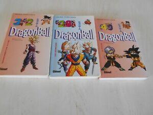 LOT 3 MANGA AKIRA TORIYAMA - DRAGON BALL - n° 29 - 32 - 40