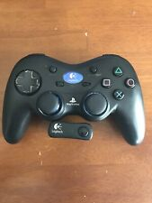 Logitech Cordless Action Wireless Sony Playstation 2 PS2 Controller & Receiver