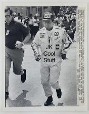 Vintage AJ FOYT 1980 Press Photo INDY 500 IndyCar Racing Automobiles Automotive