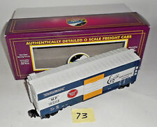 MTH MISSOURI PACIFIC LINES Boxcar # 120112 O Scale EXCELLENT W/ BOX 73