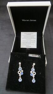 Warren James Mirabella Collection made with Swarovski Crystals Earrings