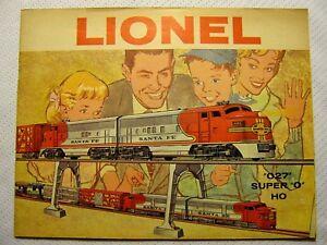 1960 LIONEL TRAINS CATALOG PRICES INSTRUCTION MANUAL CATALOG