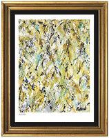 "Jackson Pollock Rare Signed & Hand-Number Ltd Ed ""Winter Rhythm"" Litho(unframed)"