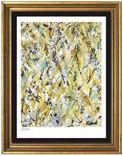 "Jackson Pollock Signed & Hand-Numbered Ltd Ed ""Winter Rhythm"" Litho (unframed)"