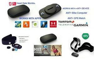 Fascia Cardio per Garmin Bluetooth Ant+TomTom Cardiofrequenzimetro Runner Bryton